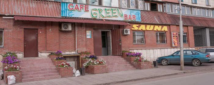 Малая сауна в комплексе Green bar