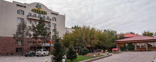 Сауна гостиничного комплекса Edem