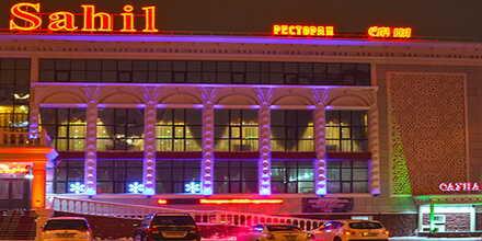 VIP сауна №2 в комплексе Sahil