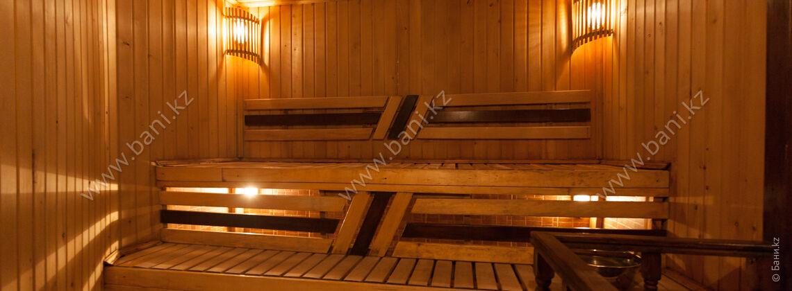 Сауна «Финская-2» в комплексе Caesar Club на Айтеке би