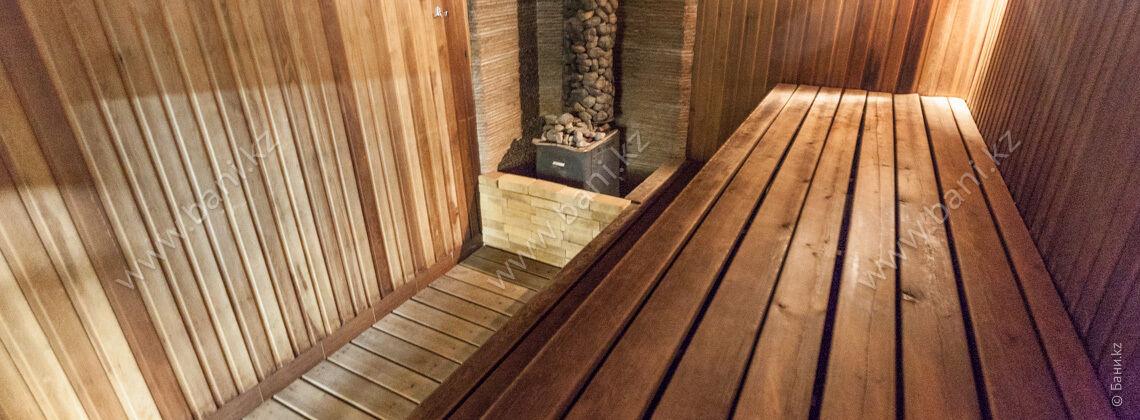 Сауна №1 в современном стиле в комплексе Office – фото 6