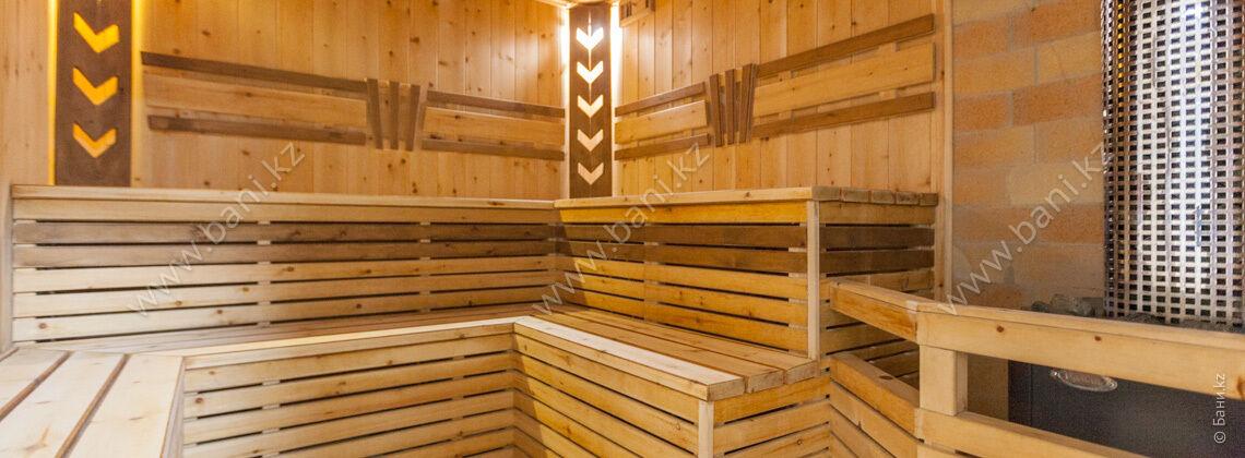 Баня «Тёмная» в комплексе «VIP-сауна Альпийская» – фото 2