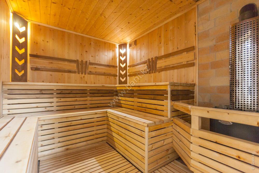 Баня «Тёмная» в комплексе «VIP-сауна Альпийская» – Фото сауны «Темная»