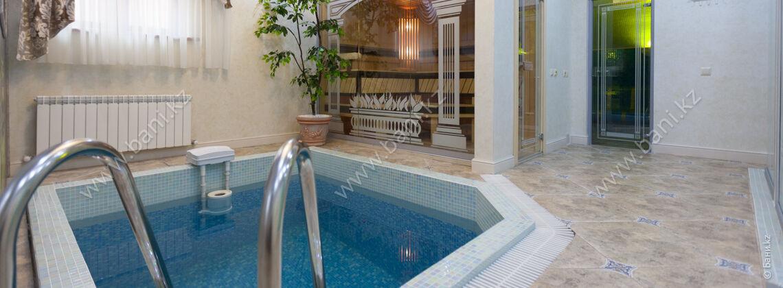 Сауна «VIP в римском стиле» в комплексе Caesar Club на Айтеке би – фото 2