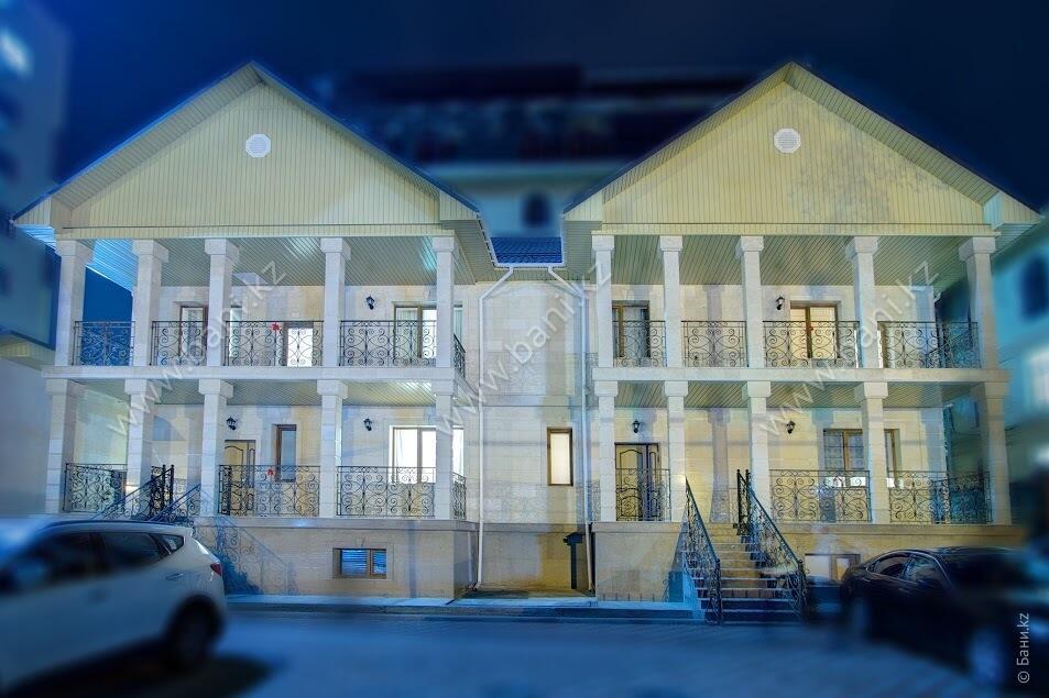 Большая сауна в комплексе Status – Фото фасада