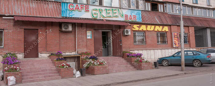 Большая сауна в комплексе Green bar