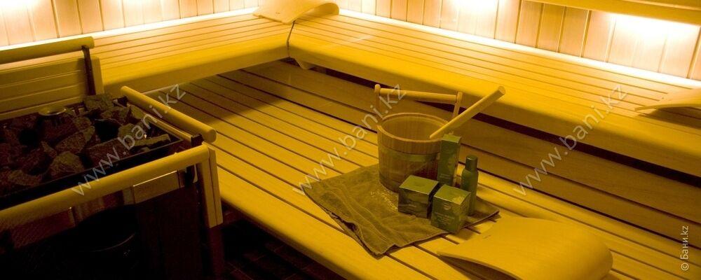 Финская парная с бассейном в банном комплексе «Усталый железнодорожник» – фото 3