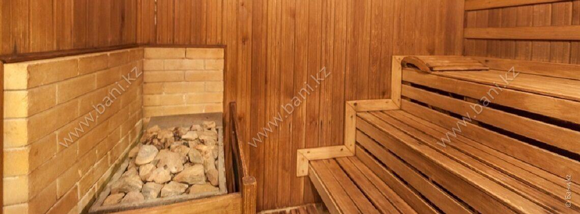 Сауна по 6000 тенге в комплексе «Алма»