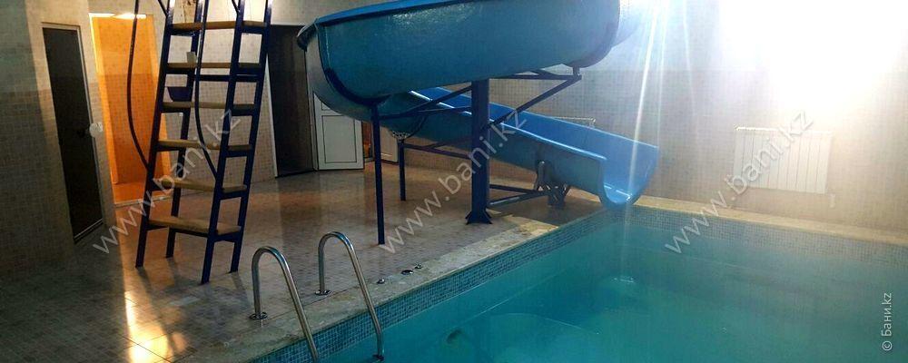 Финская парная с бассейном в банном комплексе «Усталый железнодорожник» – фото 2