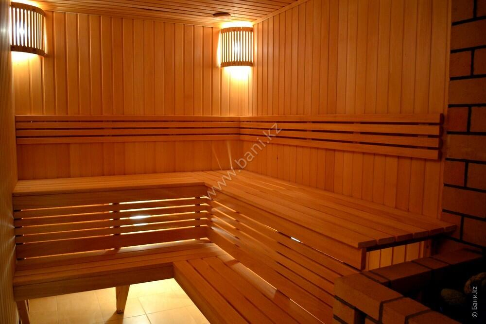 Пятиместная сауна в комплексе «Хуторок» – Пятиместная сауна на дровах – фото 3