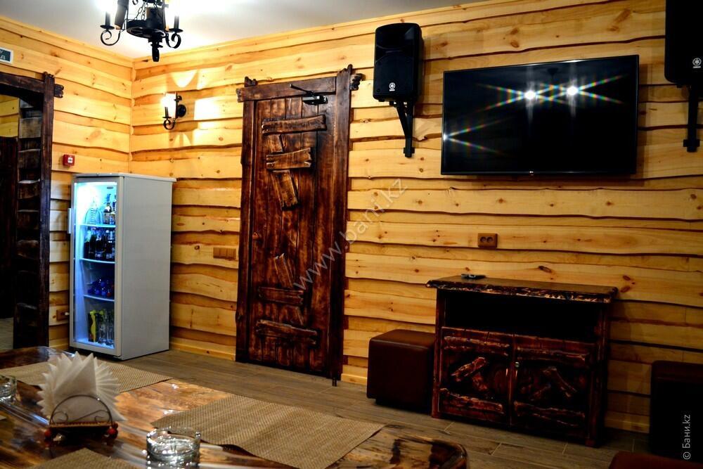 Пятиместная сауна в комплексе «Хуторок» – Пятиместная сауна на дровах – фото 9