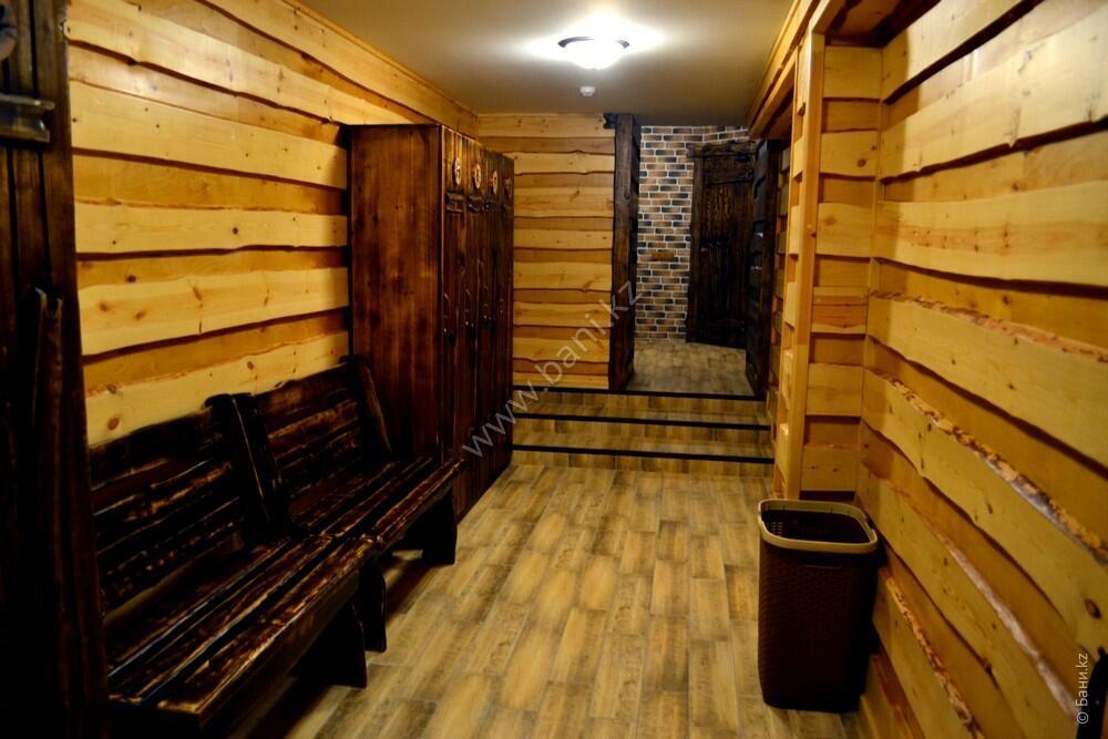Шестиместная сауна в комплексе «Хуторок» – Семиместная сауна №1 на дровах