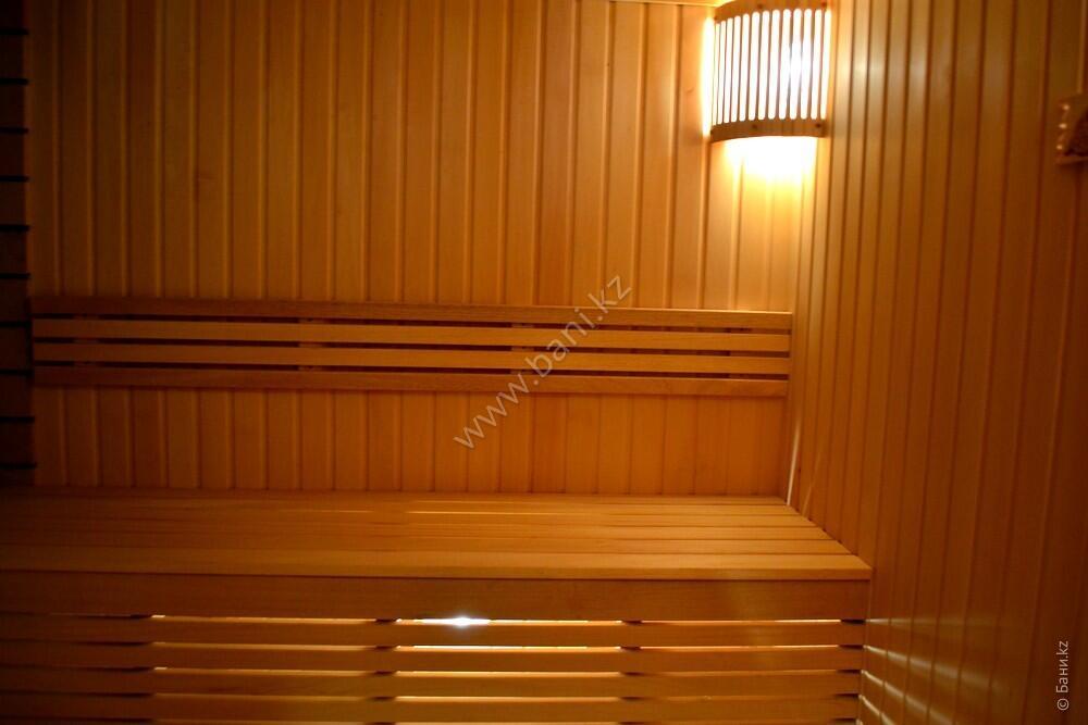 Шестиместная сауна в комплексе «Хуторок» – Семиместная сауна №1 на дровах – фото 3