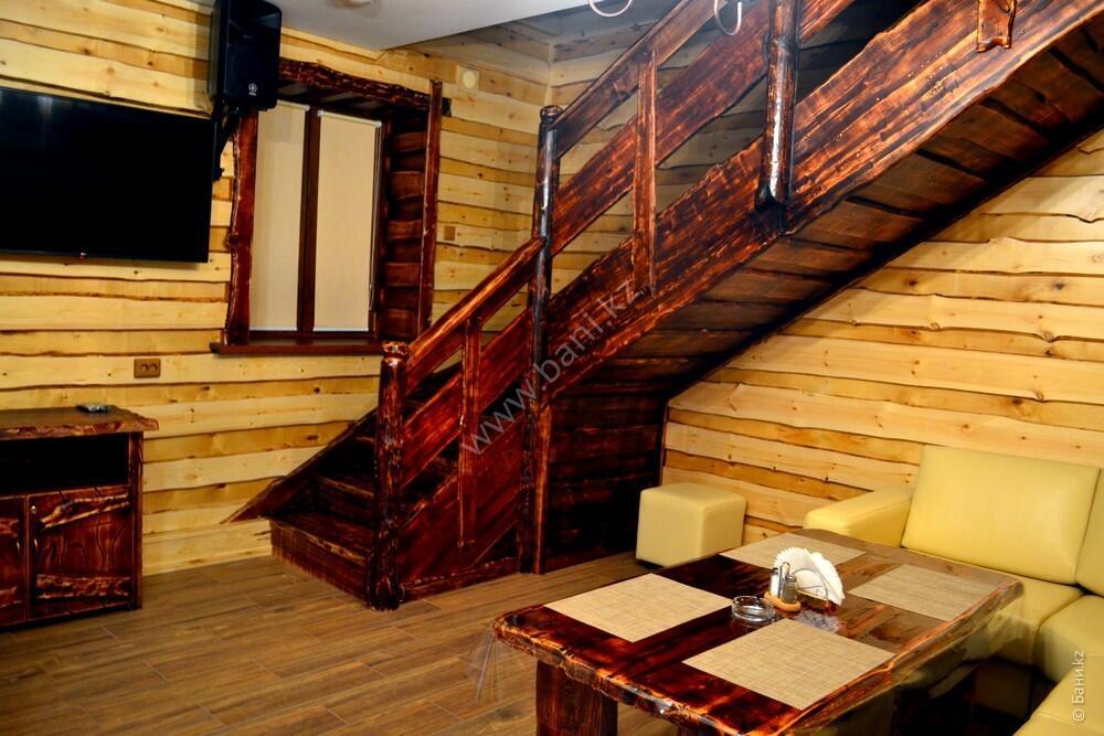 Семиместная сауна № 2 в комплексе «Хуторок» – Шестиместная сауна на дровах – фото 2