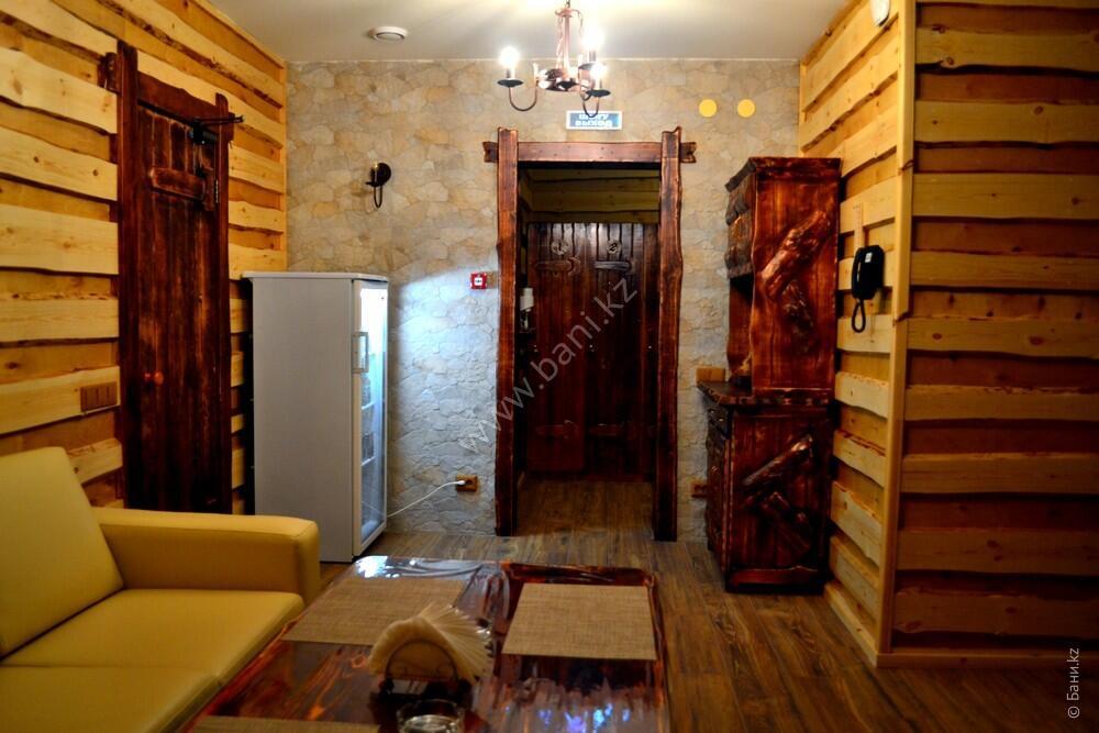 Семиместная сауна № 2 в комплексе «Хуторок» – Шестиместная сауна на дровах – фото 3