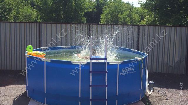Малая баня гостевого дома Verona – Летний бассейн