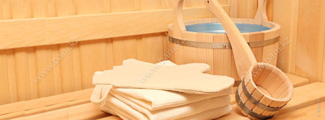 Русская баня в комплексе Baiterek Resort