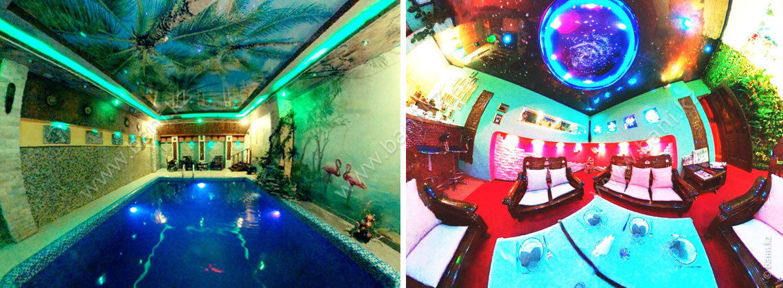 Русская баня в комплексе Fata Morgana