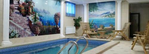 Сауна с бассейном в спортивно-оздоровительном комплексе «Березка» – фото 2