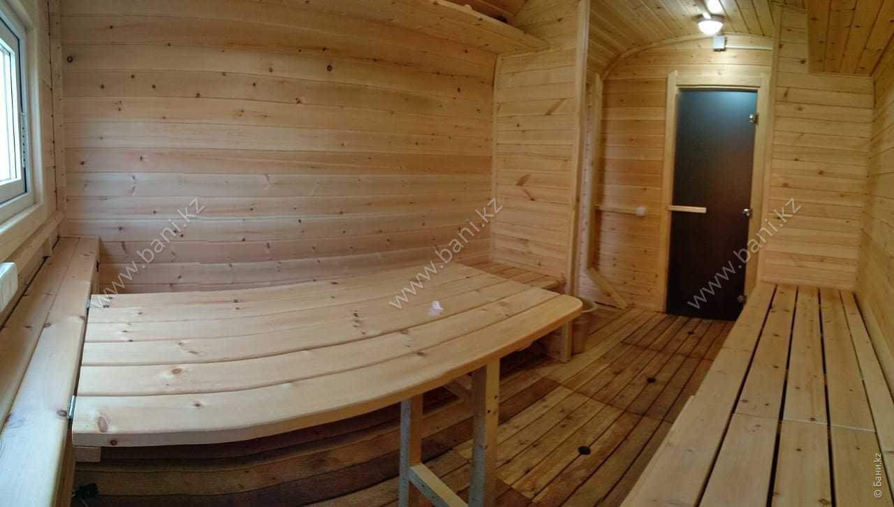 Царская баня в семейном банно-оздоровительном комплексе ЭКО-БАНЯ Парная №1  – Фото Царской бани