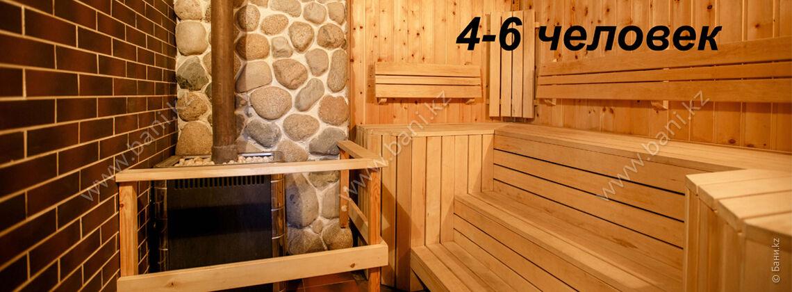 Маленькая баня в семейном загородном клубе Derby village