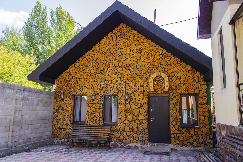 Малая сауна в  комплекс Residence city – Фасад