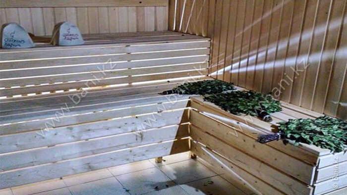 Большая баня в банном комплексе «Семейная баня на дровах»